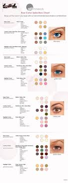 Glo Minerals Colour Chart Glo Minerals Special Edition Eye Shadow Trio In Wildbloom