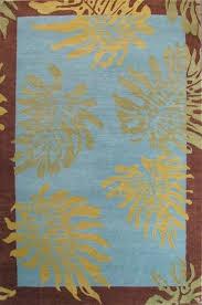 tropical area rugs honolulu design rug blue green by home tropical area rugs