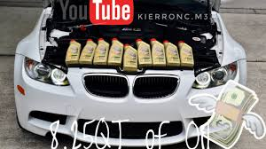 All BMW Models 10w60 bmw : How to change the oil in a BMW M3 - YouTube