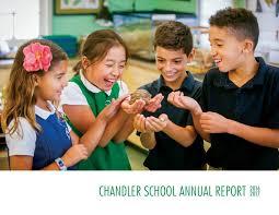 Chandler School Annual Report 2016-2017 by Chandler School - issuu