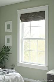 interior window frame designs. Interesting Window Installing Trim Makes All The Difference Full Picture Tutorial Including  Measurements On Thrifty Decor Chick Throughout Interior Window Frame Designs N