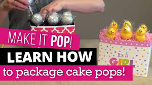 How To Display Cake Pops In A Gift Basket Box Nashville Wraps
