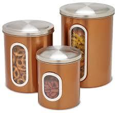 metal storage canisters metal storage containers with lids metal storage canisters copper 3 piece