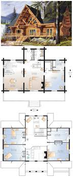 Wonderful #Log #HomePlan 64969 Has 3493 Square Feet Of Living Space With 4 Bedrooms  And
