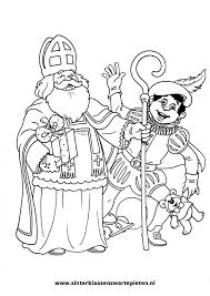 10 Gratis Kleurplaat Sinterklaas En Zwarte Piet Krijg Duizenden