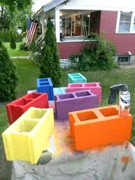 cinderblock furniture. Cinder Block Furniture Backyard Best Concrete And Ideas Images On Blocks . Cinderblock