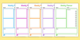 Teacher Weekly Planners Teacher Organisation Planning And Assessment Templates Primary