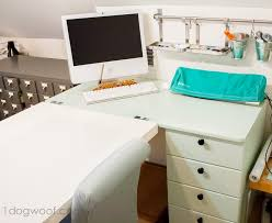 ikea office makeover. Ikea Hack Craft Desk Makeover Office