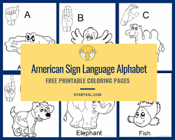 Baby Sign Language Chart Template Fascinating Sign Language Alphabet 48 Free Downloads To Learn It Fast Start ASL