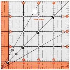 Cheap 60 Degree Ruler Quilting, find 60 Degree Ruler Quilting ... & Get Quotations · Fiskars Quilting Ruler-4.5
