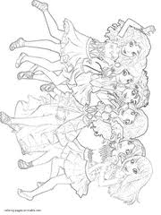 Lego Friends Coloring Pages Printable Free Sheets 46 Pics