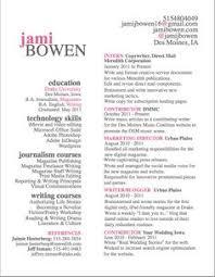 Resume for an English major :)