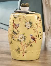 home design oriental garden stool fresh august grove casperson hand painted fl oriental