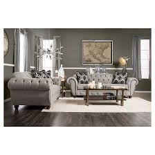 victorian style living room furniture. iohomes livingston victorian style sofa in gray living room furniture u