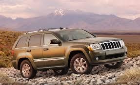2008 Jeep Grand Cherokee and Grand Cherokee SRT8