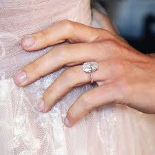 Average Engagement Ring Cost The Average Price Of Celebrity Engagement Rings Who What Wear