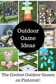 Diy Outdoor Games Cool Diy Outdoor Game Ideas Outdoor Games Game Ideas And Gaming
