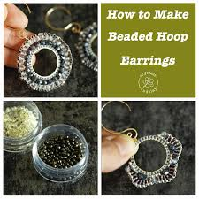 How To Design Earrings Jewellery Jewelry Making Basics 8 Two Earring Designs Using Circular