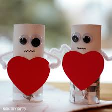 easy valentine s day crafts for kids love these quirky heart robots from non toy