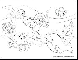 Underwater Coloring Pages At Getdrawingscom Free For Personal Use