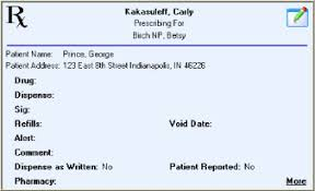 Prescription Label Template Sample Prescription Pad Template Rx Forms