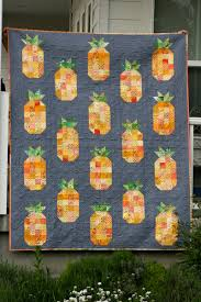 Pineapple Quilt - Hopeful Homemaker & These cute scrappy fruit quilt blocks are fun. I'm thinking I'll make a  strawberry one soon. I feel grateful and lucky to have discovered quilting. Adamdwight.com