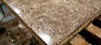 hand pressed concrete countertop how to guide cheng concrete exchange