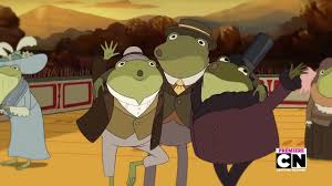 over the garden wall frog singing i remember you charlie parker