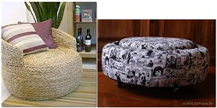 furniture made of recycled materials. Source: Casaconectada.wordpress (left) \u0026 Ehciladabina.blogspot (right) Furniture Made Of Recycled Materials Y