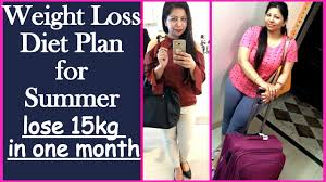 Full Day Weight Loss Diet Meal Plan For Summer To Lose 15 Kg