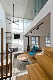 Home Designs: Wood Panel Living Room - Loft