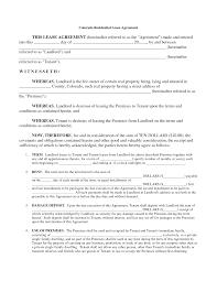 Free Printable Rental Agreement Form Best Photos Of Printable Rental Agreement Free Printable Rental 18