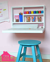 Great 17 Wall Mounted Desks To Make The Most Of Your Small Space Brit Co  With Regard To Fold Down Wall Desk Designs ...