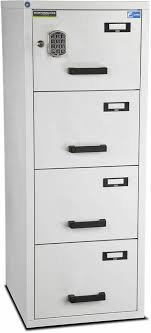 Fire Proof Filing Cabinets Burton Fire File 4 Drawer E Ff400e Fireproof Filing Cabinet