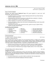 Resume Sample Nurse Registered Nurse Student Resume Sample Nursing ...