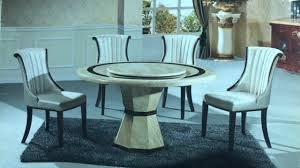 melisa round marble dining table with lazy susan melisa