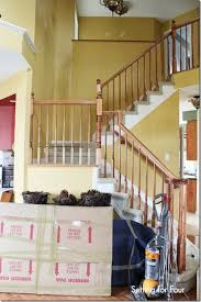 Replacing carpet on stairs with wood Stair Nose Original Paint Wall Color Homedit How To Makeover Your Stairs Find Good Pro Tips To Replace