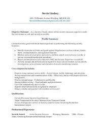 Security Guard Resume Awesome Best Best Professional Inspiration