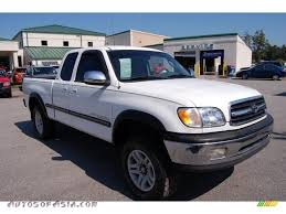 2000 Toyota Tundra SR5 Extended Cab 4x4 in Natural White - 006042 ...
