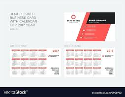 Double Sided Business Card Template Free Vector Templates Downloads