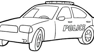 Coloring Pages Police Car Cars Color Coloring Pages Police Car