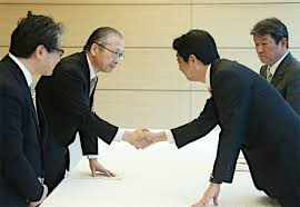 Image result for 連合の神津会長