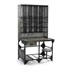 industrial looking furniture. go industrial with this vintage style metal desk will look great in any room made wire mesh and distressed includes looking furniture