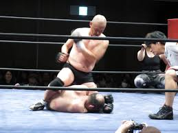 Japanese wrestling class taboo