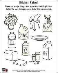 Small Picture safety in the home worksheets kitchen Google Search Kitchen