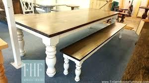 turned leg farmhouse table farmhouse table plans turned leg farmhouse table massive 6 inch turned leg farmhouse table home massive 6 inch farmhouse