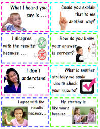Accountable Talk Anchor Chart How To Get Your Students Talking About Math Smathsmarts