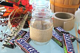 fall festive mason jar craft idea
