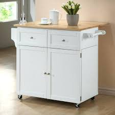 butcher block kitchen cart small with top o87