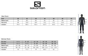 salomon size charts salomon size charts dolap magnetband co